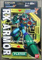 ROCKMAN X RX Armor Plated MEGA MAN Toy FIGURE MEGAMAN BanDai DISCONTINUED ITEM!!