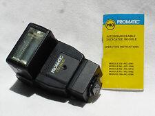 PROMATIC FTD 2500  flash w. Instructios Universal  Dedicated for Nikon  FTD2500