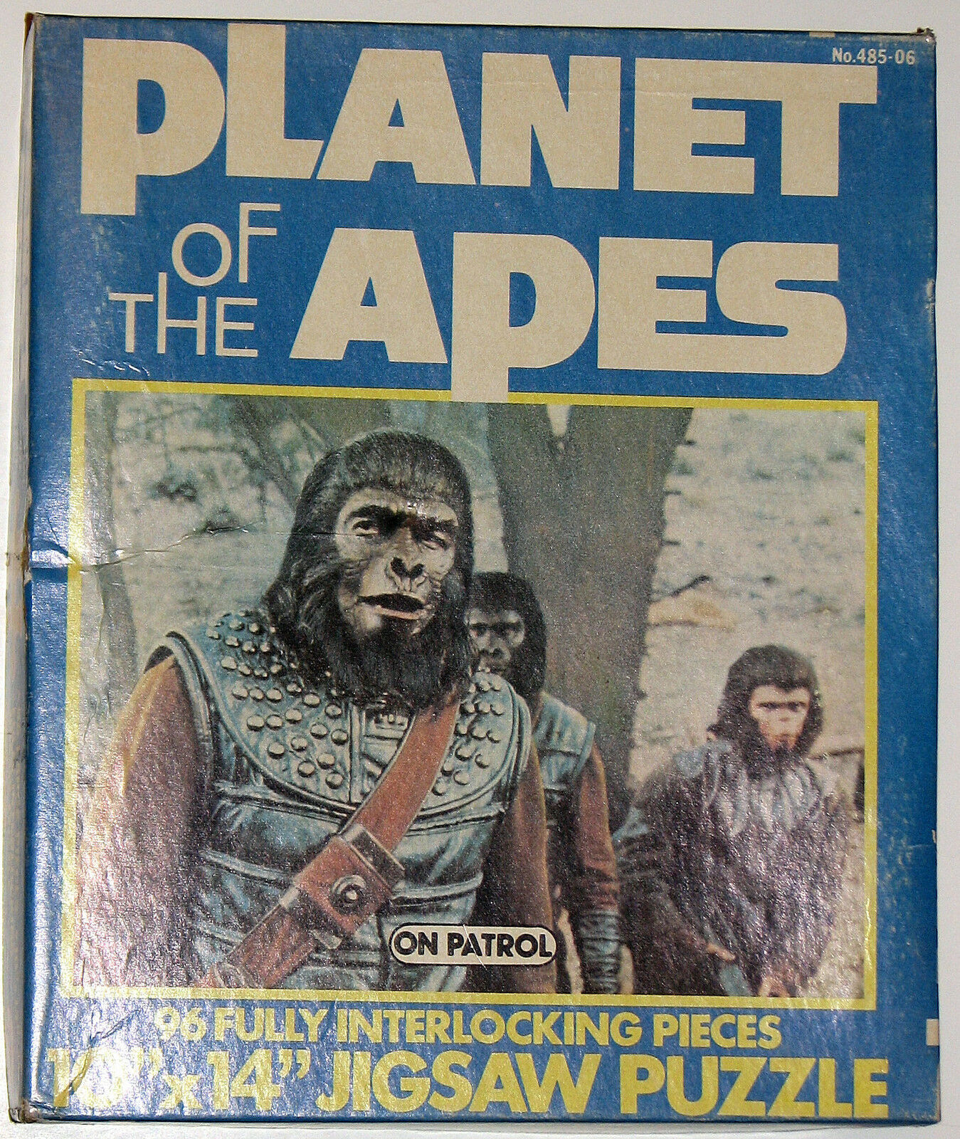 PLANET Of The APES ON PATROL 96 pc JIGSAW PUZZLE 1967 w Original Box