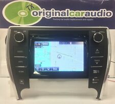 2014 - 2016 Toyota Camry OEM NAvigation JBL AM FM HD Radio CD Player 100368