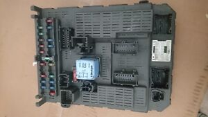 Citroen-c5-STEUERGERAT-MODULE-CONTROLLER-BSI-T04-00-9649301780-Fuse-box