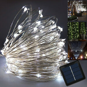 Solar fairy lights 10m