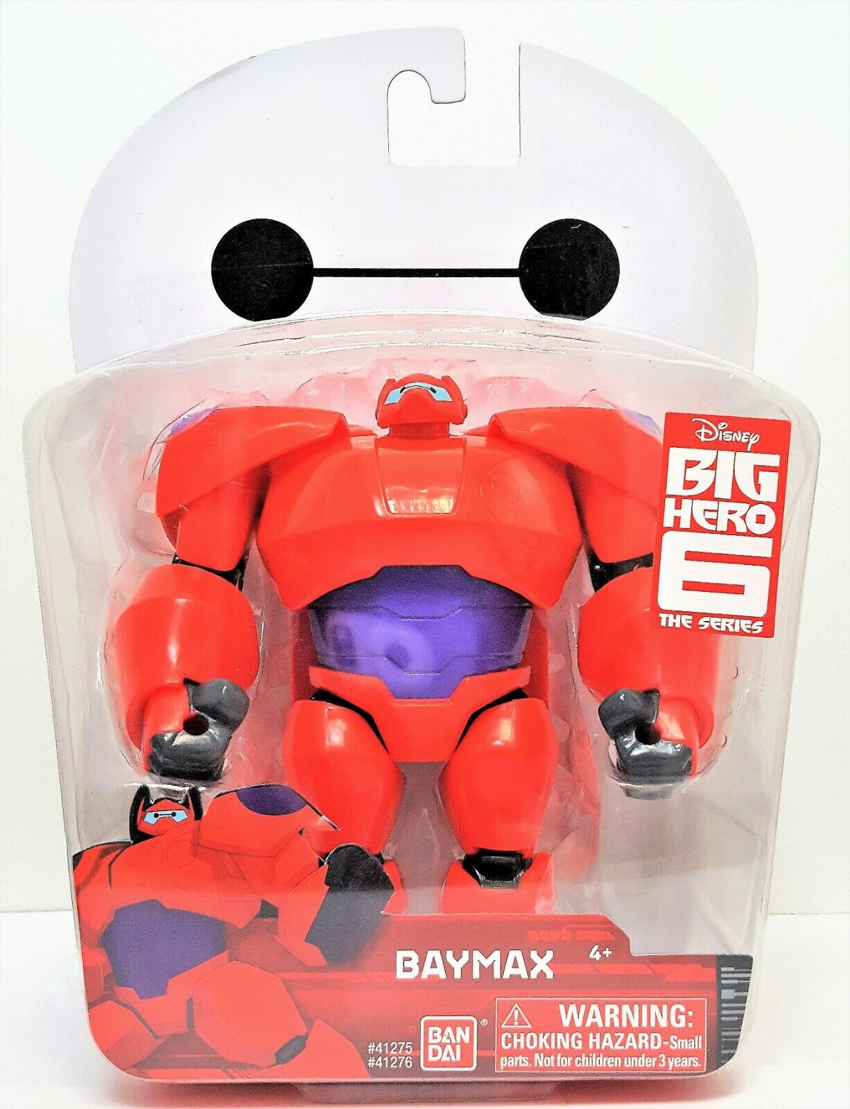 Baymax Armored Action Figure 5 Inch Disney S Big Hero 6 Bandai For Sale Online