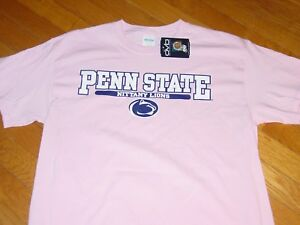 39cf49a5 PSU PENN STATE NITTANY LIONS PINK T-Shirt CANCER NEW sz... LARGE | eBay
