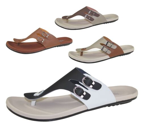 Mens Toe Post Slipper Casual Flip Flop Beach Walking Fashion Sandals