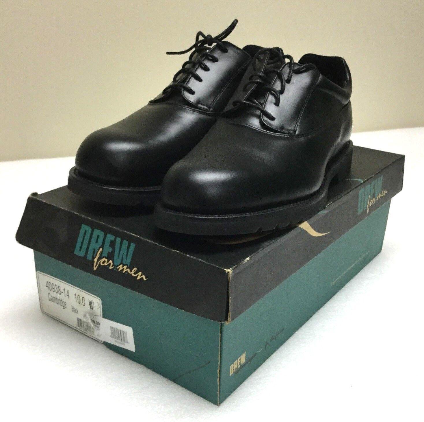 Scarpe casual da uomo  Drew for uomo Cambridge 40938-14 Orthopedic Oxford Dress Shoes 10 3E