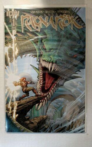 Ragnarok #1 Main Cover A First Print IDW