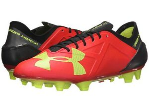3106873a880c Under Armour UA Spotlight FG Soccer Cleats (Red) 12722998-669* | eBay