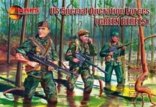 Mars 1/32 US Special Forces Green Berets 15 Unpainted Plastic Soldiers 32008 MIB