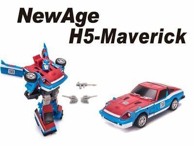 New NEWAGE Transformers Mini Warrior The Legendary Heroes H05 Maverick In Stock