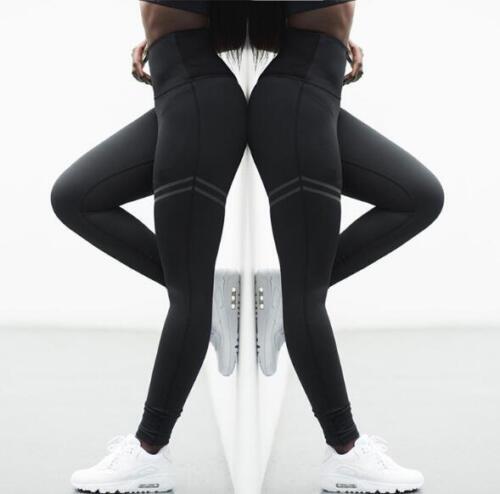 Women Fitness Yoga Leggings Running Gym Athletic Lady High Waist Pants Trousers