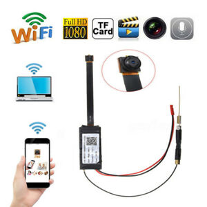 Mini WIFI 1080P HD Spy Hidden IP Camera Wireless DIY Module DV DVR Nanny Cam TO