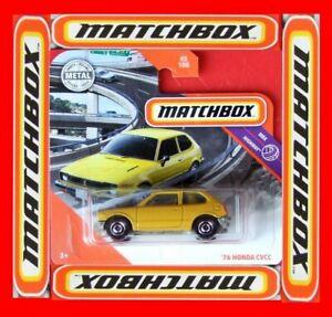 Matchbox-2020-039-76-Honda-Civic-CVCC-45-100-neu-amp-ovp