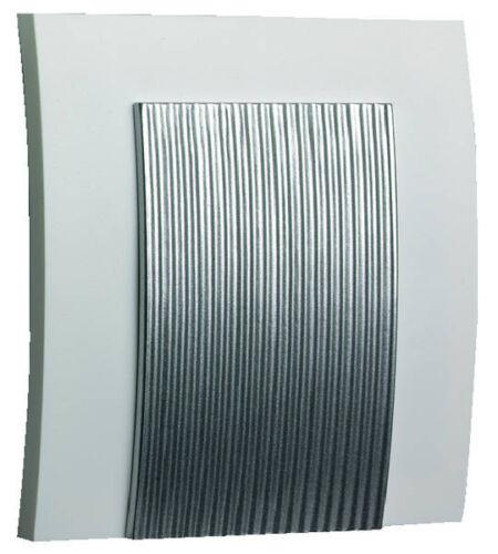 Grothe Gong 565 Türgong elektromechanisch Zweiklang Türklingel 44565 weiß silber