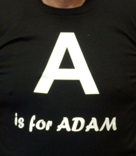 Enfant Rose ou Noir T Shirt Alphabet Nouveauté T Shirt Et personnalisé prénom