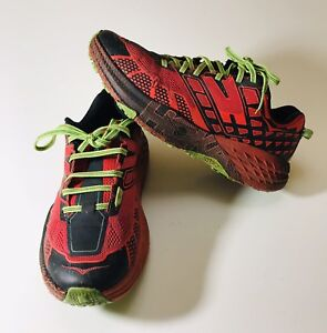 f56e366ab647 Hoka One One Speedgoat 2 Men s size 8.5 Trail Running Shoes 1016795 ...