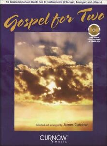 Amical Gospel Pour Deux Duos Clarinette Partitions Livre Avec Cd-afficher Le Titre D'origine Excellente Qualité