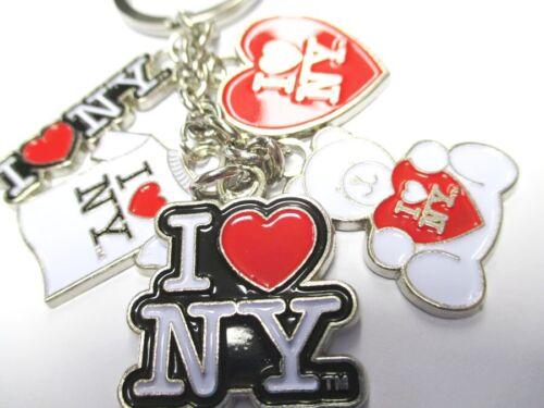 New York Schlüsselanhänger I LOVE NY Keychain Charms,Souvenir Amerika