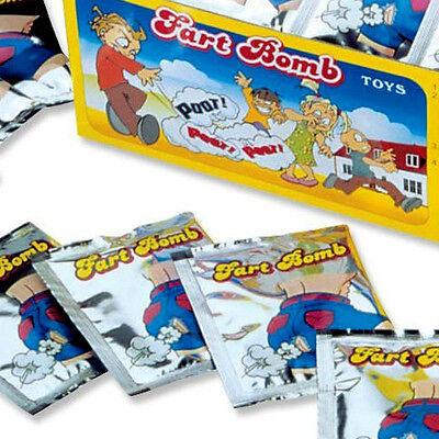 72 Stink Bombs Fart Nasty Smelly Joke Prank Gag Smelly Bags Odor