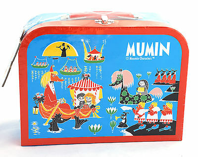 Moomin Children Two Puzzles 72 Pieces in Box with Handle