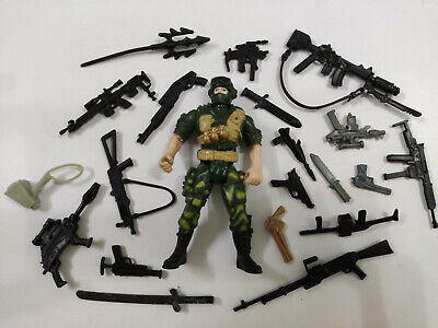 "3.75/"" Gi Joe NIGHT CREEPER With 5pcs Accessories Rare Figure Gift"