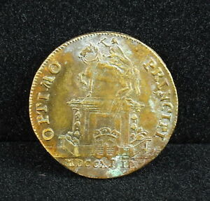 France-Jeton-Token-Royal-Optimo-Principi-Louis-XV-1743-Nav-REX