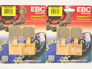 EBC HH Rear Brake Pads For Kawasaki 1997 ZX6R F3
