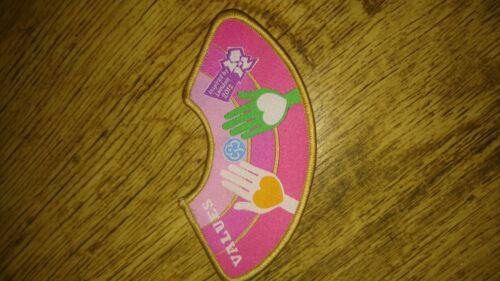 Brownie Blanket Badge London Olympics 2012 Values