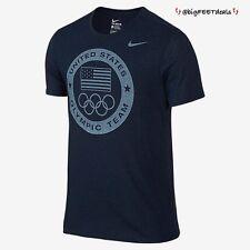 NWT Nike Limited Edition (2XL) 2016 Rio Team USA Olympic Logo Dri-Fit Shirt NAVY