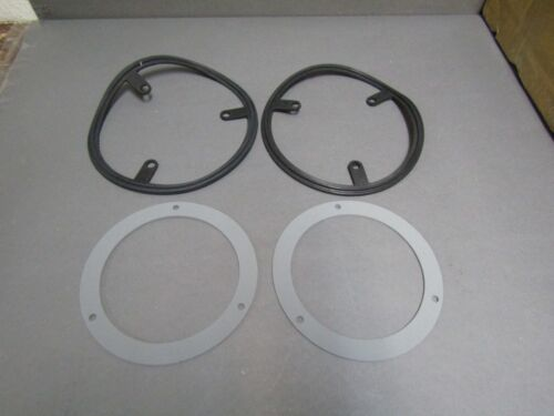 56 Ford taillight gasket and housing pad set