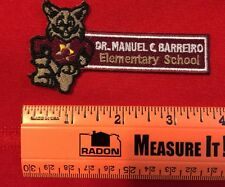 Bobcat Patch Dr. Manuel C. Barreriro Elementary School Miami Florida