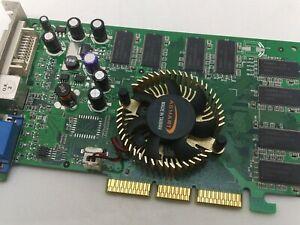 Scheda Video MSI MS-8911 NVIDIA GeForce FX5200 64mb DDR VGA DVI AGP