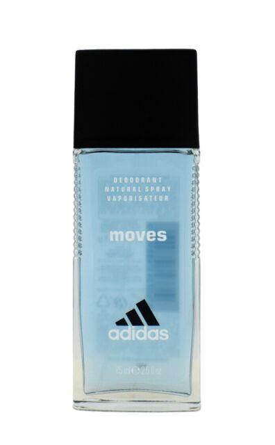 75 Ml adidas Moves Him Deodorant Natural Spray