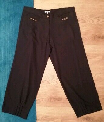 Stone-UK Size 20-NEW LADIES /'Alice Collins/' COTTON CASUAL TROUSERS-Length 29/""