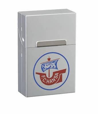 AluBox chrom F.C Hansa Rostock NEU+OVP Zigaretten Etui