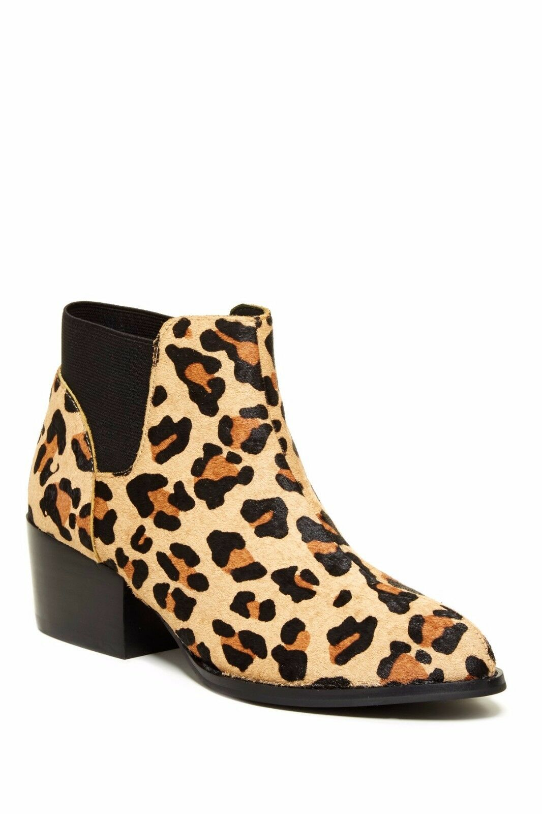 New Steve Madden Palace Genuine Dyed Cow Hair Boots women's sz 8.5