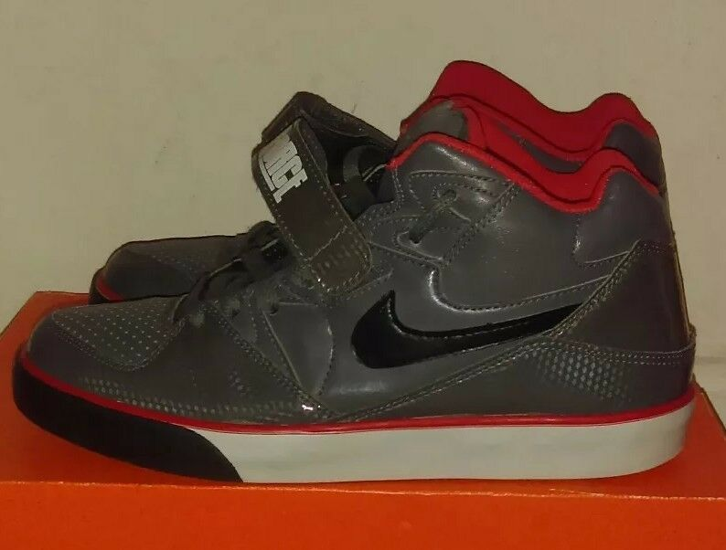 Comfortable and good-looking Nike Auto Force 180 Dark grey/white/infrared.  Comfortable