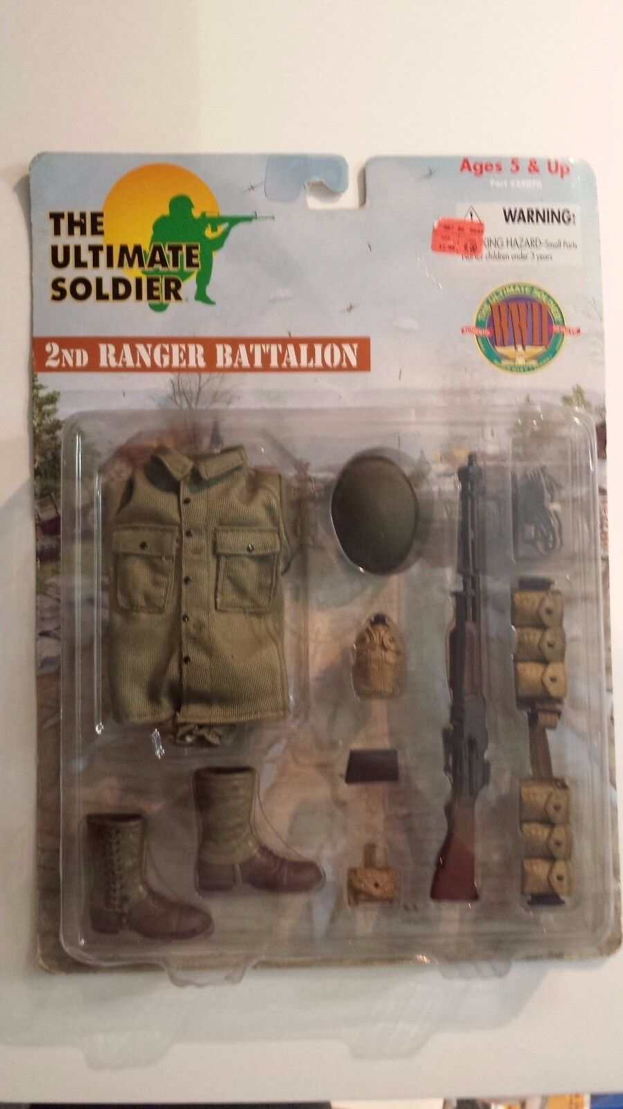 The Ultimate Soldier  2nd Ranger Battalion Weapon and Gear Gear Gear Set 144995