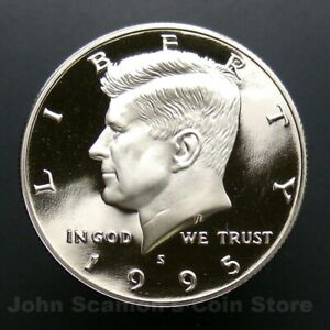 SILVER 2013 S Proof John Kennedy Half Dollar Deep Cameo Combined Shipping