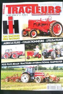 TRACTEUR-Hors-Serie-N-3-International-Harvester-IH-dans-le-nord-Puy-de-dome