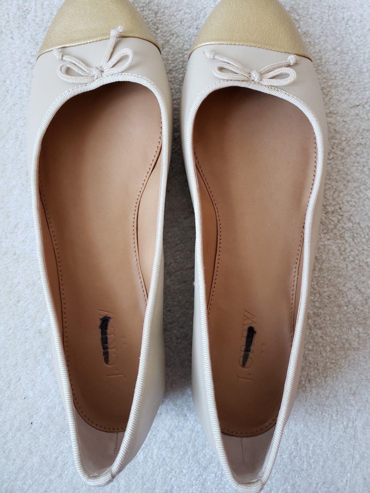 J.Crew Factory uptown cap toe ballet flats Taille 7