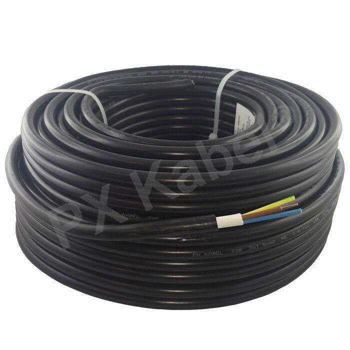 Erdkabel Starkstromkabel NYY-J 3x1,5 mm² Elektroleitung Stromleitung VDE - 100m | Die Qualität Und Die Verbraucher Zunächst