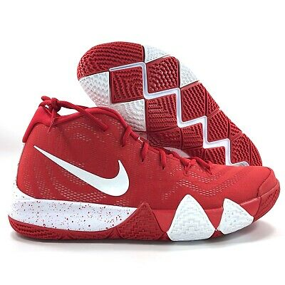 new style 1cb3a 8ca82 Nike Kyrie 4 TB University Red White Kyrie Irving Shoes AV2296-600 Men's 14  | eBay