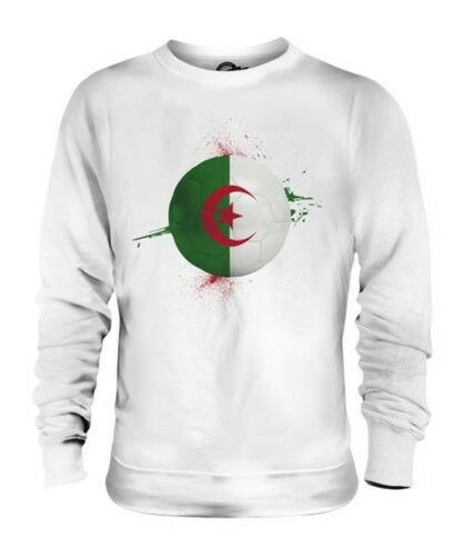 ALGERIA FOOTBALL UNISEX SWEATER TOP GIFT WORLD CUP SPORT