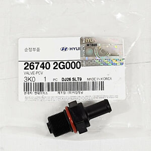 PCV Valve Assembly OEM Parts For Elantra Genesis Coupe Sonata Forte 26740-2G000