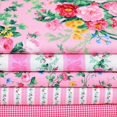 Stoffpaket Blumenstoffe Blau Blumen Patchworkstoff Stoff Patchwork Quilten Paket
