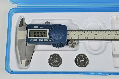 """Stainless Steel 0 to 6/""""// Fowler 54-101-150-2 Xtra-Value Cal Electronic Caliper"""