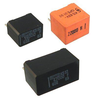SIEMENS EMZ 1/% Precision Capacitor 147pF 3.74nF 12.1nF 13.3nF Audio RIAA 2 pcs