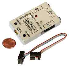 AVRISP MKII Programmer Metal Case 5V 3.3V 0.5A Protection ISP PDI TPI XMega Tiny