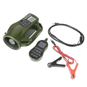 Ave llamada MP3 reproductor 10W Altavoz Sonido de control remoto para la caza de pájaros